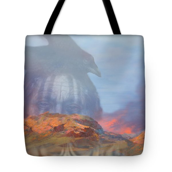 ' Old Fire Eyes Returns ' Tote Bag