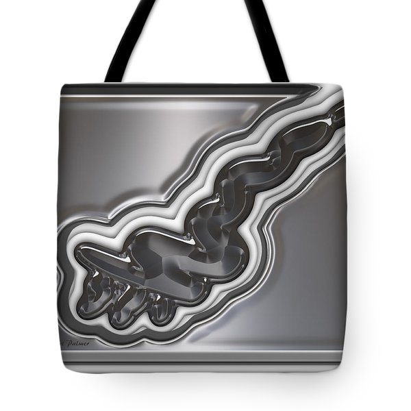 ' On The Luge ' Tote Bag