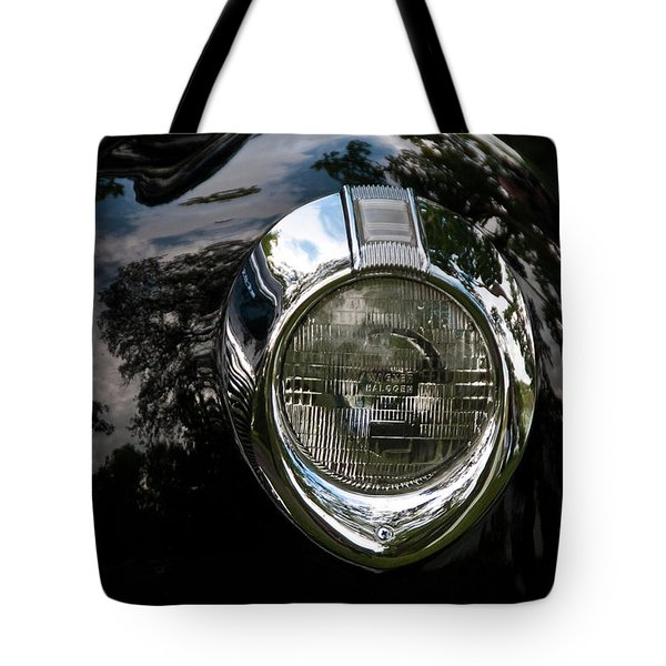 Tote Bag featuring the photograph  One Eye 13128 by Guy Whiteley