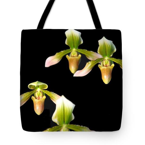 Orchid Quads Tote Bag