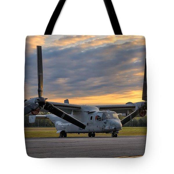 Osprey At Daybreak Tote Bag