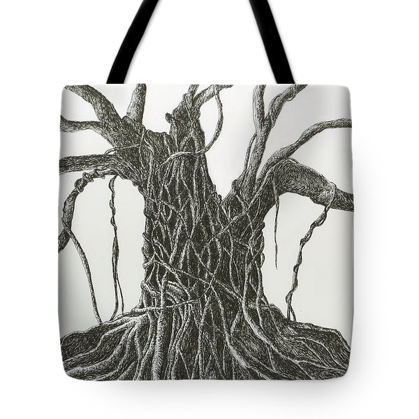 Patience Tote Bag by Rachel Hames