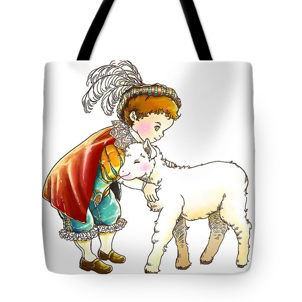 Prince Richard And His New Friend Tote Bag by Reynold Jay