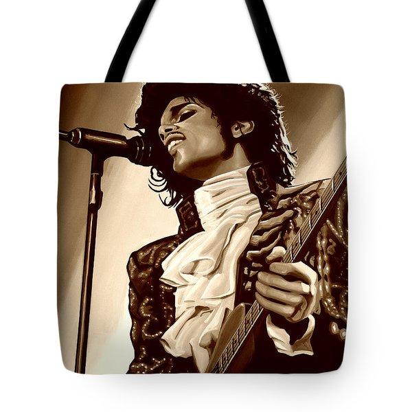 Prince The Artist Tote Bag