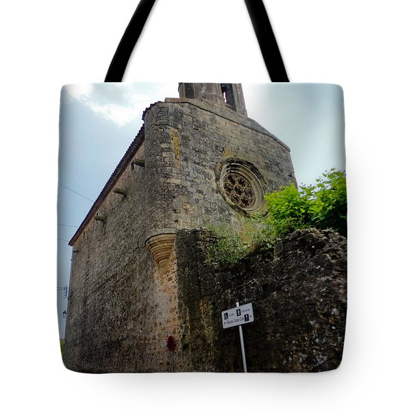 Pubol Spain Church Tote Bag by Gregory Dyer