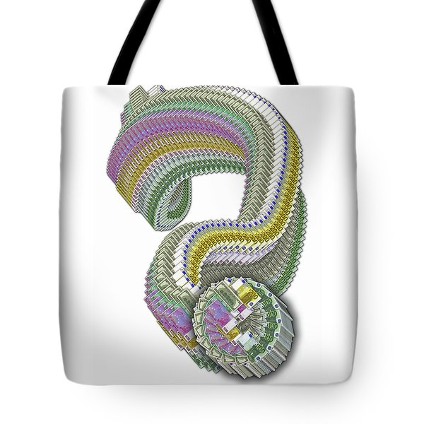 ?. Question Mark.  Tote Bag