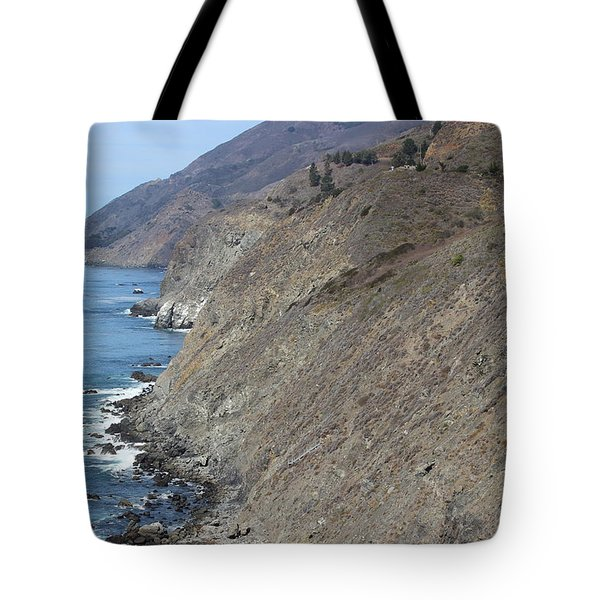 Ragged Point View Tote Bag
