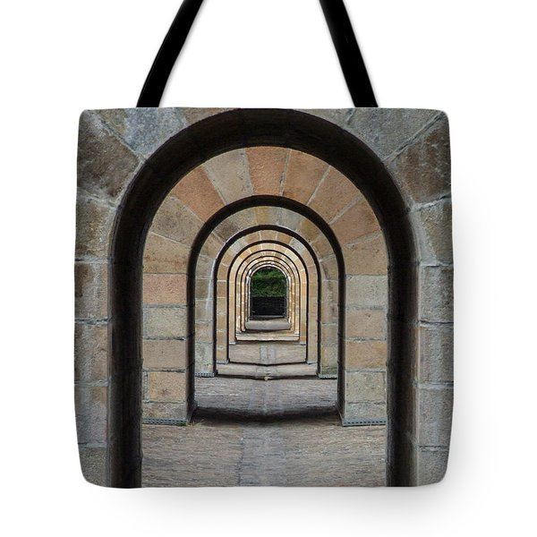 Receding Arches Tote Bag