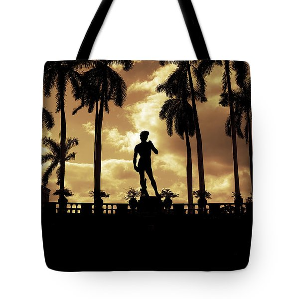Replica Of The Michelangelo Statue At Ringling Museum Sarasota Florida Tote Bag