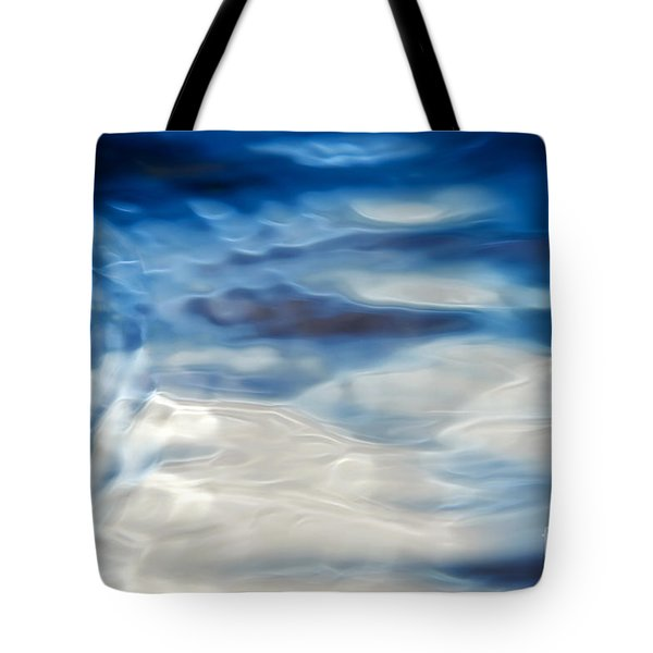 Ripples Of Blue Tote Bag