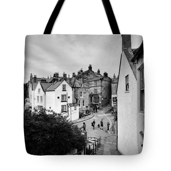 Robin Hoods Bay Tote Bag