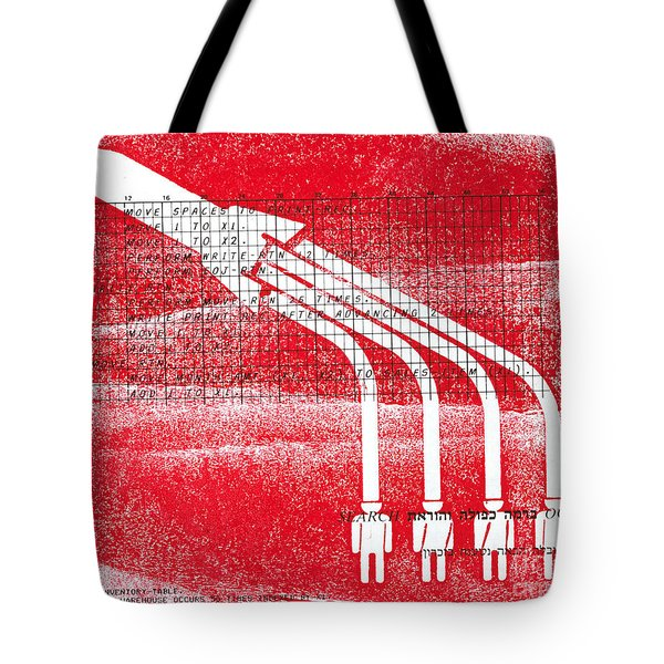 Rocket Launch  Fueled By Mind Power Tote Bag