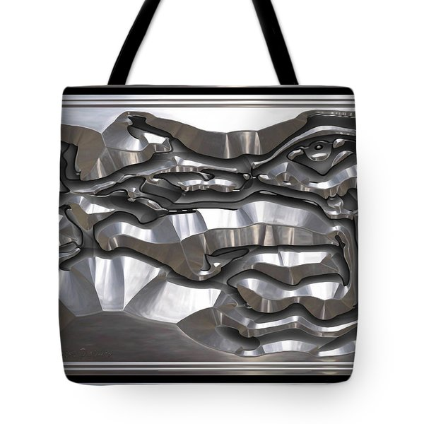' Light Rays Through Dark Passages ' Tote Bag