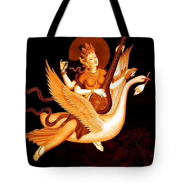 Saraswati 4 Tote Bag