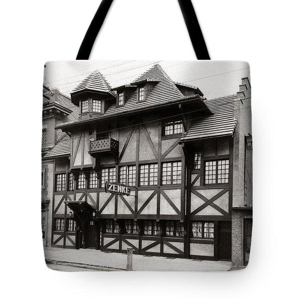 Scranton Pa Zenke's Alt Heidelberg Restaurant Early 1900s Tote Bag