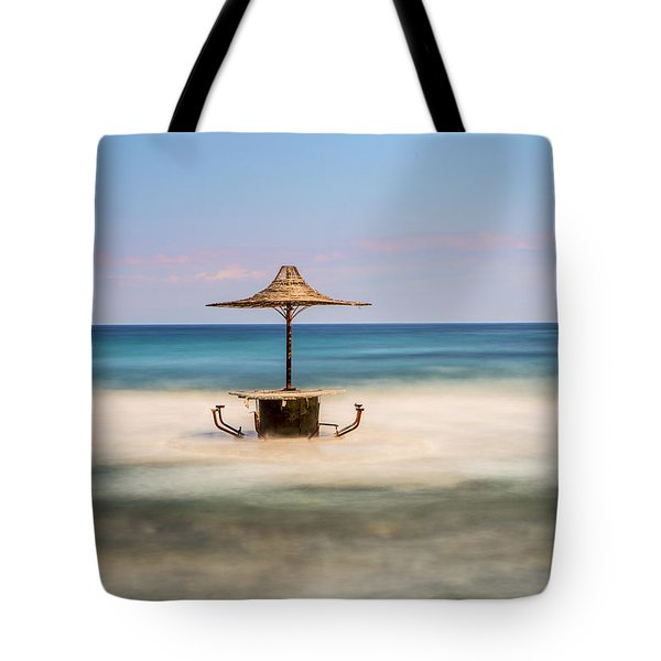 Seaside Bar Tote Bag
