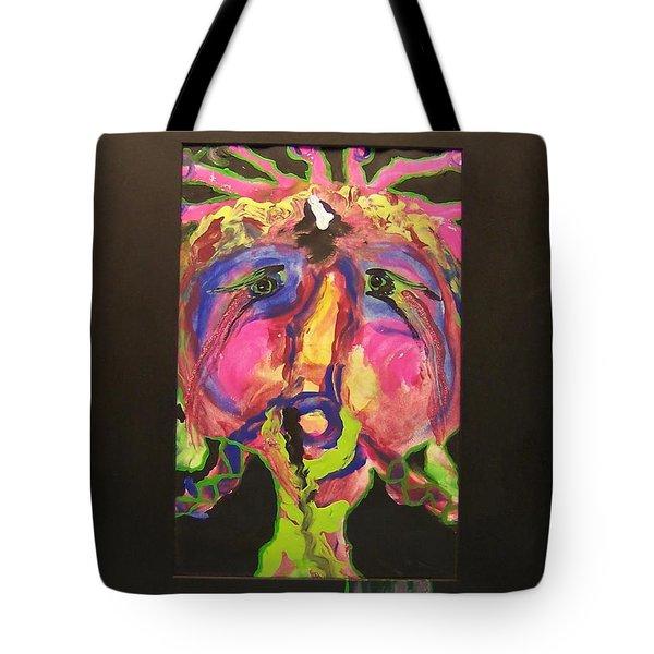 Self Portrait Tote Bag by Deahn      Benware