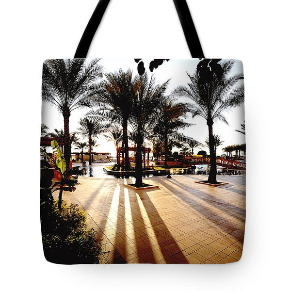 Silhouettes Tote Bag by Marwan Khoury