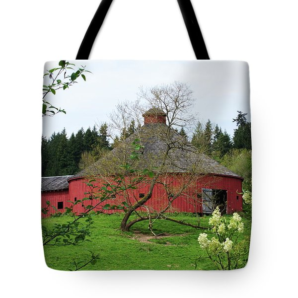 Spring At The Round Barn Tote Bag