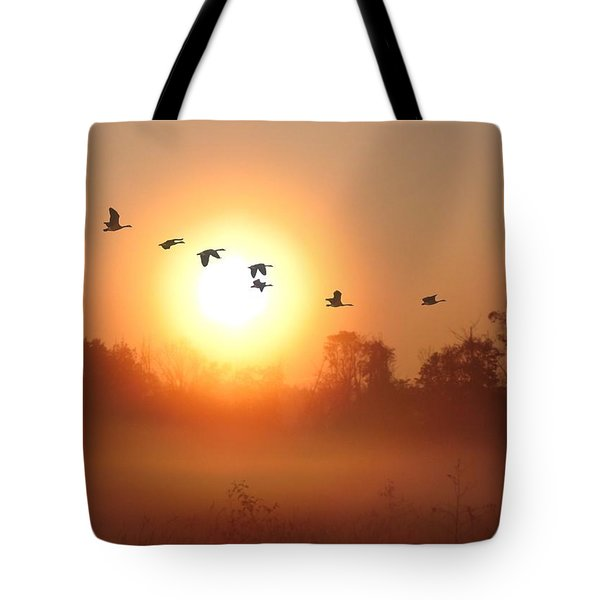 Returning South Tote Bag