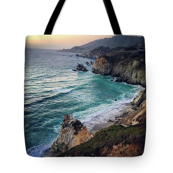 Sunset Creek  Tote Bag