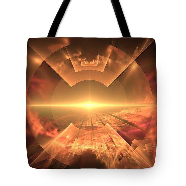 Supernova  Tote Bag by Svetlana Nikolova