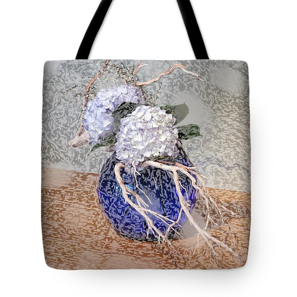 Surrealistic Blue  Tote Bag