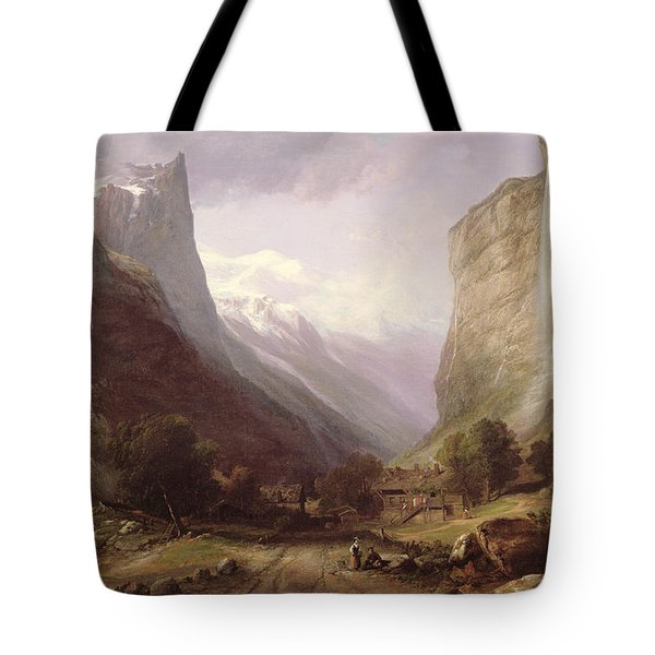 Swiss Scene Tote Bag by Samuel Jackson