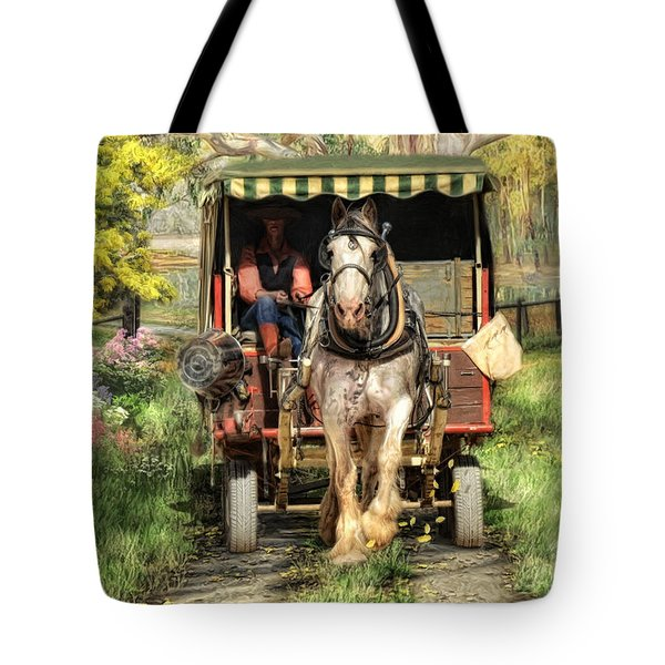 Take Me Home Country Road Tote Bag