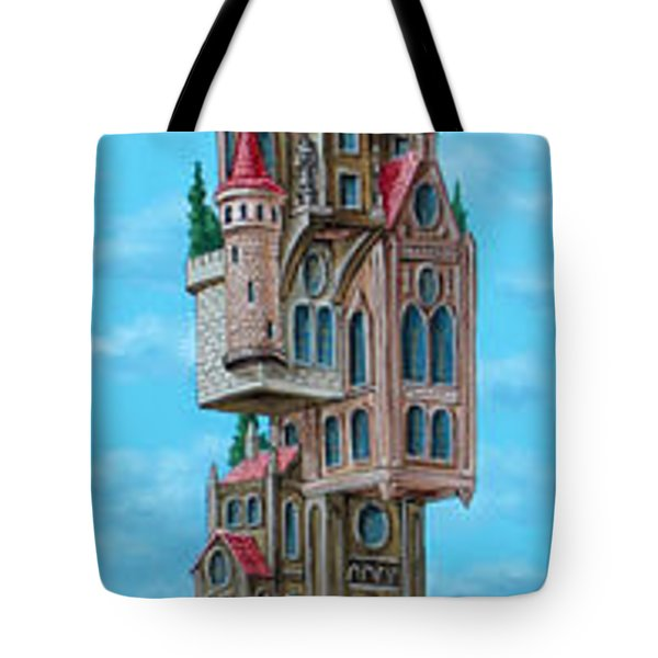 The Castle Of Air Tote Bag