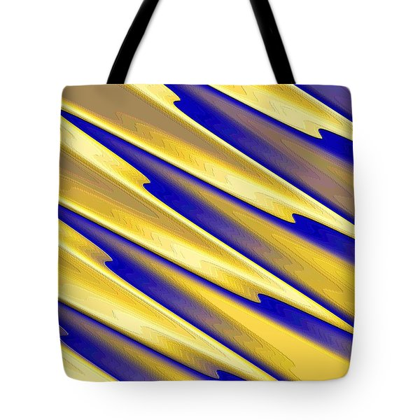 Tote Bag featuring the digital art  The Enemies  by Dragica  Micki Fortuna