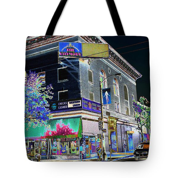 The Fillmore West Tote Bag