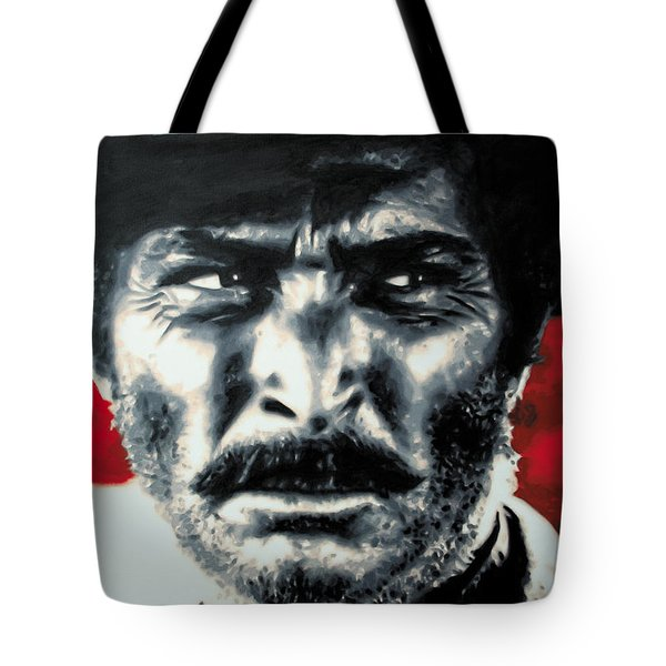 - The Good The Bad And The Ugly - Tote Bag by Luis Ludzska