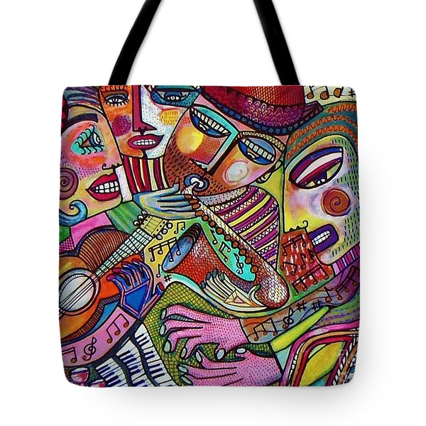 -the Music Of Friendship  Tote Bag
