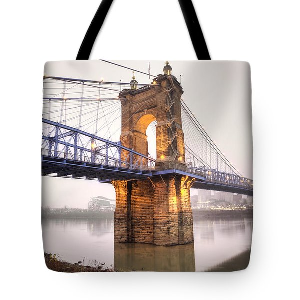 The Roebling Bridge Tote Bag