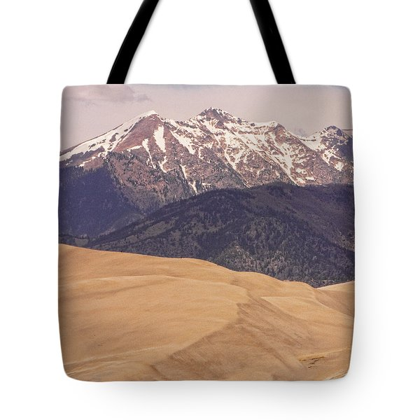 The Wind Carries Sand And Rocks From Many Miles Away. The Dunes Contain Areas Of Black Sand Which A Tote Bag by James BO  Insogna