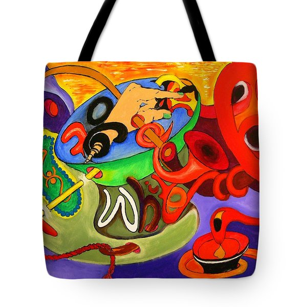 Time Constraints Tote Bag by Helmut Rottler