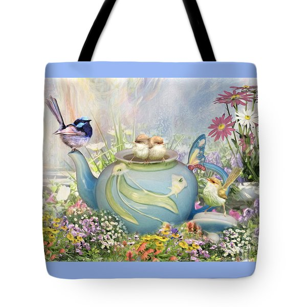 Tiny Tea Party Tote Bag