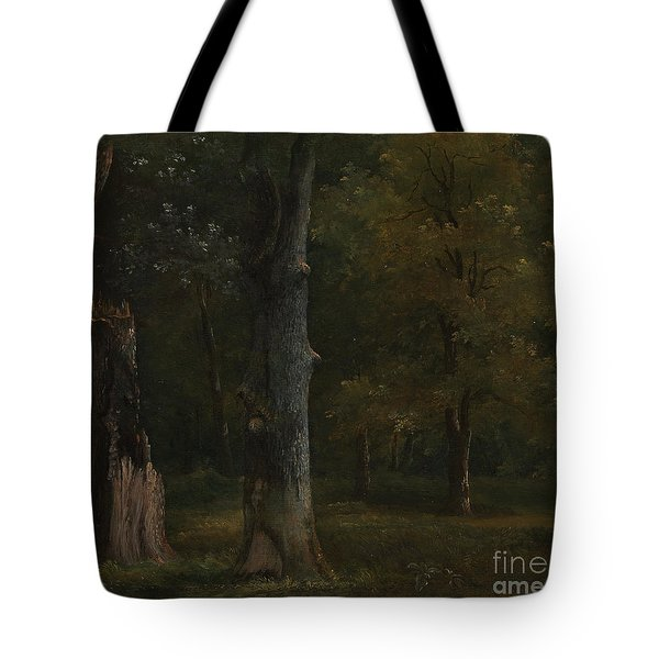 Trees In The Bois De Boulogne Tote Bag