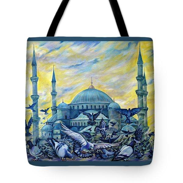 Turkey. Blue Mosque Tote Bag