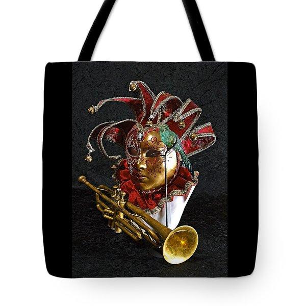 Venitian Joker Tote Bag