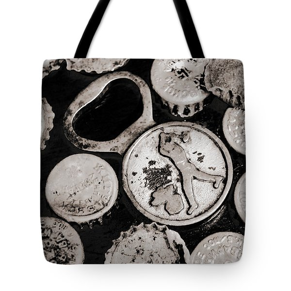 Tote Bag featuring the photograph  Vintage Opener  by Andrey  Godyaykin