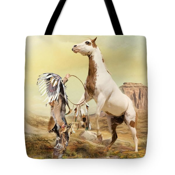 Tote Bag featuring the digital art  Wild Things by Trudi Simmonds