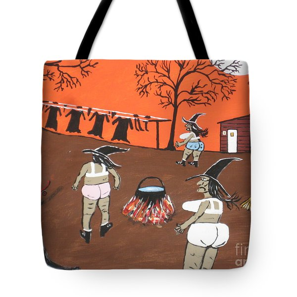 Witches Wash Day Tote Bag