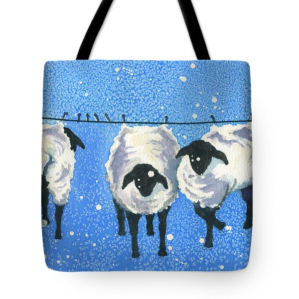 Wool   Wash Cold Line Dry Only Tote Bag