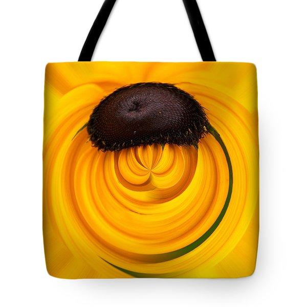Yellow Tote Bag by Jouko Lehto