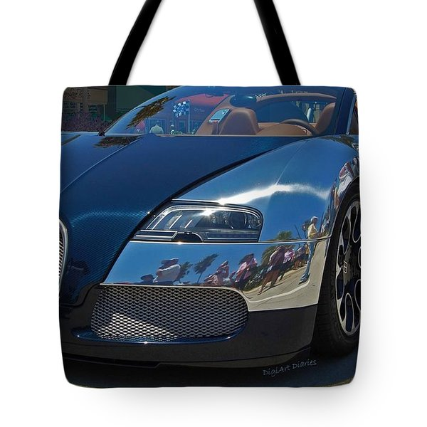 0 To 60 In 2 Tote Bag by DigiArt Diaries by Vicky B Fuller