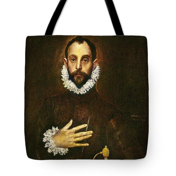 El Greco: Gentleman Tote Bag by Granger