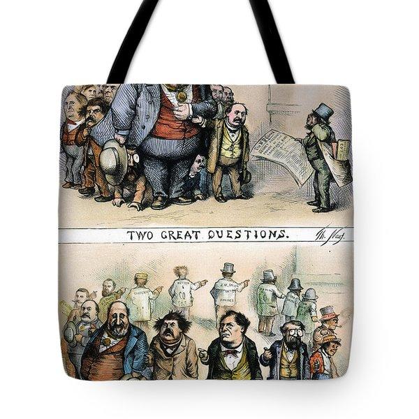 Nast: Tweed Corruption Tote Bag by Granger