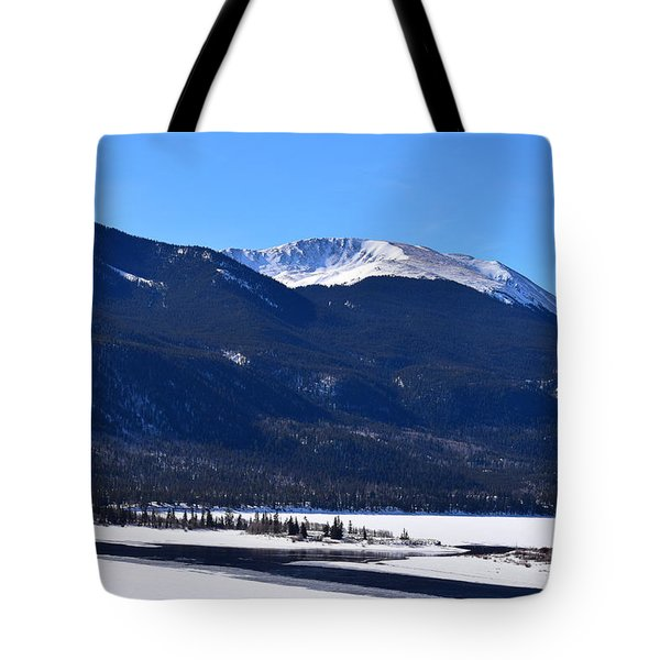 Tote Bag featuring the photograph Twin Lakes Leadville Co by Margarethe Binkley